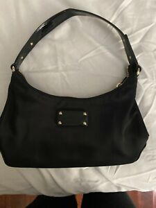 Small Kate Spade New York Black Evening Bag 10.5x6.5x2.75