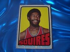 1972-73 Topps Basketball Card #232 Willie Sojourner NM/NM-MT