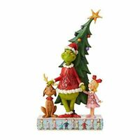 Enesco Grinch by Jim Shore Grinch, Max and Cindy by Tree Figurine