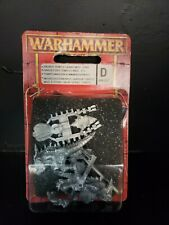 Warhammer Saurus Temple Guard Musician STND Mini Metal Games Workshop OOP BL05