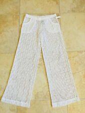 New listing TRINA TURK SWIM & SPA COLLECTION white crochet pants size M