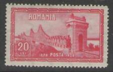 Romania Sg1108 1928 20l Red Mtd Mint