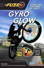 Espoleta Gyro resplandor Bicicleta, BMX, bicicleta de montaña, Ruedas de bicicleta, patrón de luz, brillante NUEVO