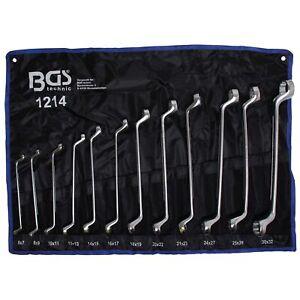 Doppelringschlüssel Satz 12 tlg. BGS | Profi Werkzeug Ringschlüssel Set Kfz 1214