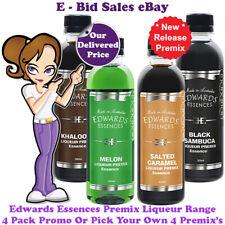 NEW Release PreMix 4 Liqueur Essence Pack Promo By Edwards Essences @ $49.99