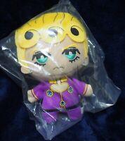 JoJo's Bizarre Adventure Giorno Golden Wind Plush Doll Tomonui Giorno Parte5 NEW