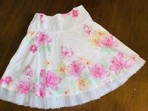 EUC Pumpkin Patch Size 2 Floral Skirt