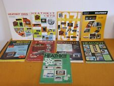 11 Vintage 1970'S Heathkit Electronic Kit Mail Order Catalogs Magazines Manuals