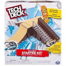 Tech Deck Starter Kit Ramp and Board Set Fingerboard Skateboard