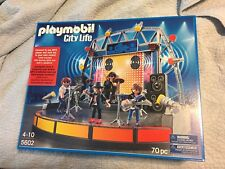 Playmobil 5602 City Life Rock Band & Stage New & Unopened Free Shipping In USA