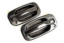 GMC SIERRA OUTSIDE DOOR HANDLE PAIR/SET 1997 1998 1999 2000 2001 2002 2003 2004