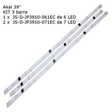 """Kit retroilluminazione per Akai Aktv401 Js-d-jp3920-071ec Js-d-jp3920-061ec""""r"""