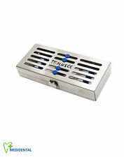 Sterilization Sterilizing Stainless Cassette For 5 Instruments Medical Surgical