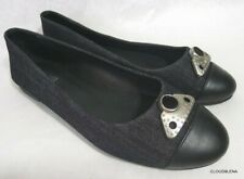 DIESEL (Made in ITALY)  Size 37 Denim/Leather CYNTHIA  Flats/Ballet Shoes