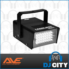 AVE LEDBURST Mini LED Strobe Disco Party DJ Compact Light Effect - White