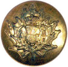 POST 1952 THE QUEENS'S OWN CAMERON HIGHLANDERS  OF CANADA, TUNIC BUTTON. #045