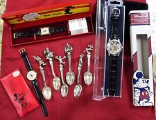 Disney spoon & watch collection