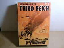 Rise and Decline of the Third Reich, an Avalon Hill Game 1974