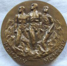 MED6756 - MEDAILLE LIBERTE J'ECRIS TON NOM - 1914-1944 par Christine Cochet
