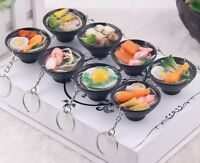 "Ramen Simulated Food Keychain 1.5"" One Keychain Random Style US Seller"