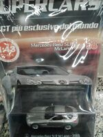 MERCEDES-BENZ SLR McLAREN 2003 - SUPERCARS GT COLLECTION 1:43 #58 DIE-CAST MIB