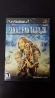 Final Fantasy XII (Sony PlayStation 2, 2006) pre-owned ps2 black label