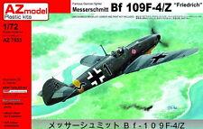 """AZ Models 1/72 Kit 7533 Messerschmitt Bf-109F-4/Z """"Friedrich"""""""