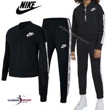 Nike Tuta da Ragazza Classic Nera Taglia M (137-146 Cm) cod Cu8374-010