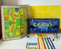 CAT ATTACK Family Board Game 100% Complete 2 to 6 Players Age 8+ 2001 VGC
