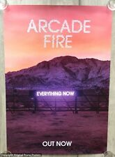 ARCADE FIRE - PROMO POSTER - EVERYTHING NOW (lp color vinyl tour ticket cd box)
