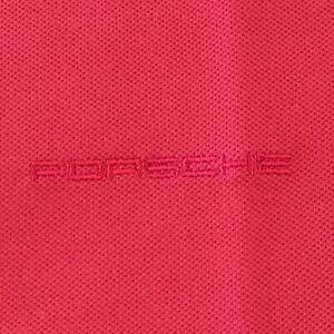 PORSCHE DESIGN DRIVER'S SELECTION NOS WOMEN'S PINK POLO SHIRT. USA XL/EURO XXL.