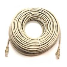 50M RJ45 Network Ethernet Patch Lead Cat6 HIGH SPEED Gigabit LAN Internet Cable