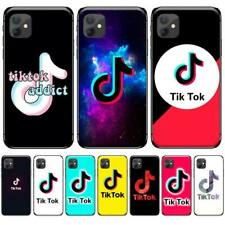 TikTok Silicone Phone Case For iPhone 5S SE 5C 6 6S 7 8 plus X XS XR 11 PRO MAX