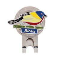Cute Bird Design Magnetic Hat Clip Golf Ball Marker Fit for Golf Cap Visor