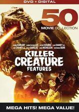 KILLER CREATURE FEATURES: 50 MOVIE MEGAPACK - DVD - Region 1