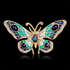 Women's Butterfly Rhinestone Brooch Pin Breastpin Wedding Bridal Jewelry New