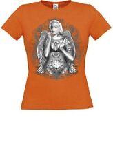 Tattoo Damen-T-Shirts mit Motiv aus Baumwolle
