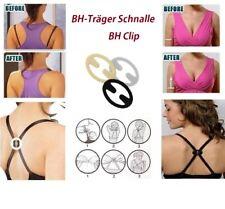 12 Push Up Anti Rutsch BH-Clip für Träger Bürstenhalter Buckle Schnalle
