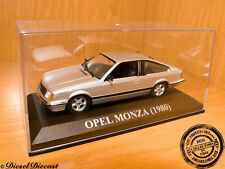 OPEL MONZA METALLIC SILVER 1980 1:43 WITH BOX!! MINT!!!