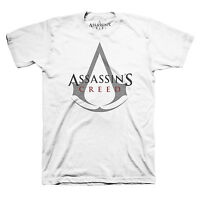 Assassin's Creed - Logo White T Shirt - NEW & OFFICIAL