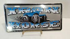 Iron Horse Funny Novelty License Plate Car Tag