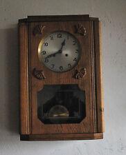Alte Uhr Regulator Wand Uhr Pendel Uhr geferigt ca.1930-1940