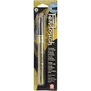 Sakura - Pentouch Metallic Ink Marker - Gold or Silver - Fine 1.0mm
