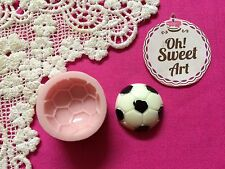 Soccer Ball Sports Silicone Mold Food Safe  Decoration Candy Cupcake soap (FDA)