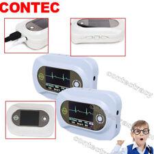 CMS-VE LCD Color Multi-function Visual Electronic Stethoscope ECG PR SpO2 probe