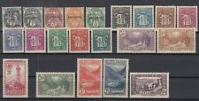 Bi6446/ FRENCH ANDORRA – 1931 / 1943 MINT MH SEMI MODERN LOT – CV 425 $