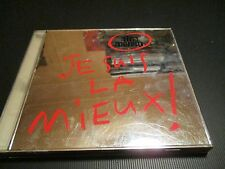 """CD """"JE SUIS LA MIEUX"""" Nina MORATO / 12 titres"""