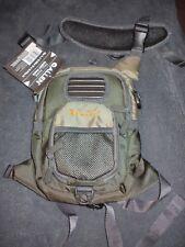 New Allen #6344 Olive Green Fall River Chest Pack w/ Backpack Shoulder Strap