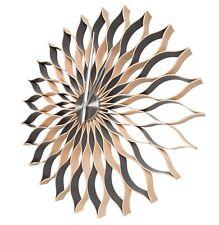 Wall clock,88 cm ,large, modern, handmade   natural wood