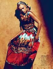 NWT DOLCE & GABBANA Printed silk-organza dress Size 42 6